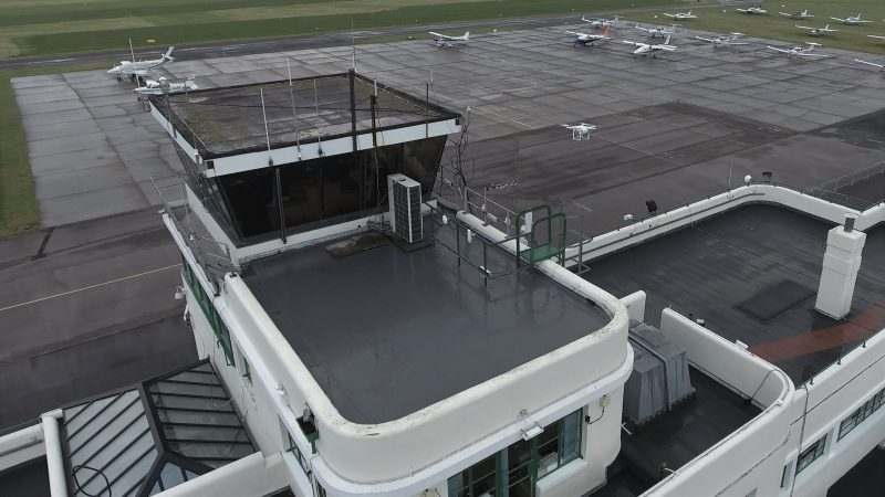 Drones In Roofing Fad Or The Future Mastic Asphalt