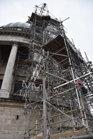 St Paul's Cathedral mastic asphalt waterproofing