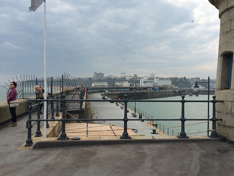 Knight Asphalte project Folkestone Harbour