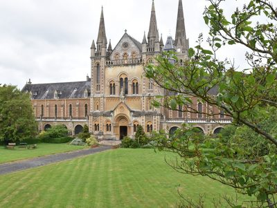 St Hughs Monastery reroofing project