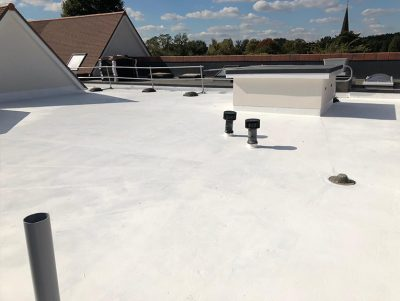 Queen Mary House mastic asphalt roofing