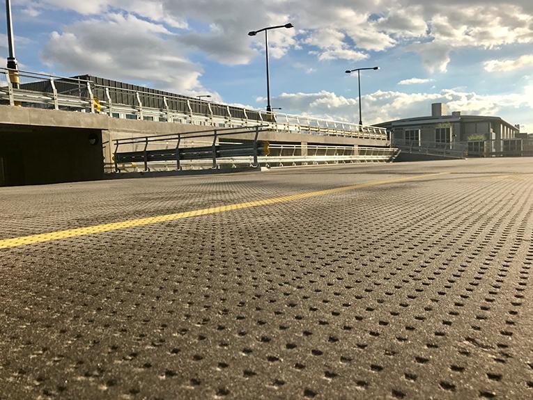Granta mastic asphalt car park