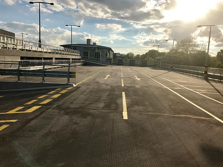 Granta elevated car park surfacing