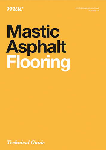 Mastic asphalt flooring technical guide