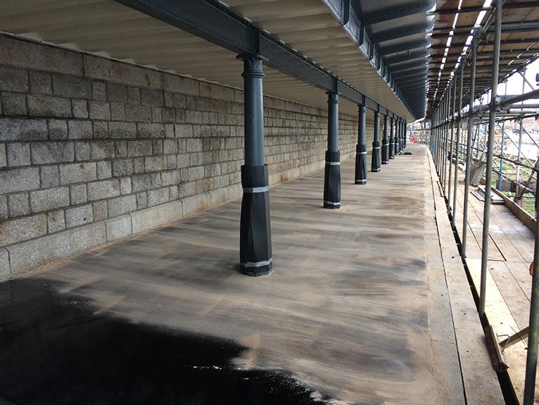 Folkestone Harbour Knight Asphalte project