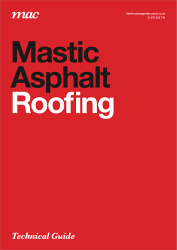 Mastic asphalt roofing technical guide