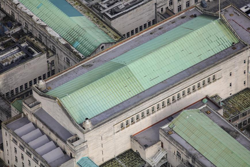 Guildhall Southampton - mastic asphalt protection