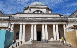 National Museum Cardiff - roof refurbishment