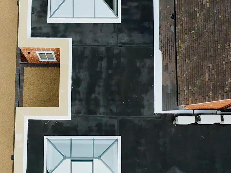 Private residence mastic asphalt roof 2