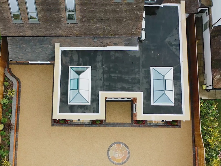Private residence mastic asphalt roof 1