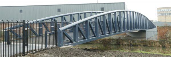 Mastic asphalt footbridge